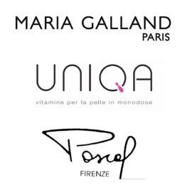 Loghi Maria Galland - Uniqua - Pascal